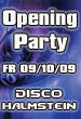 Opening Party Disco Halmstein