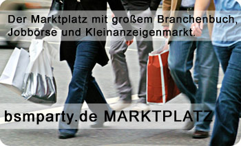 Marktplatz, Jobbörse und Kleinanzeigen